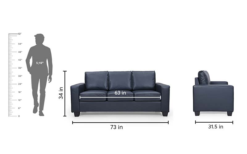 Zara 3seater Sofa Set