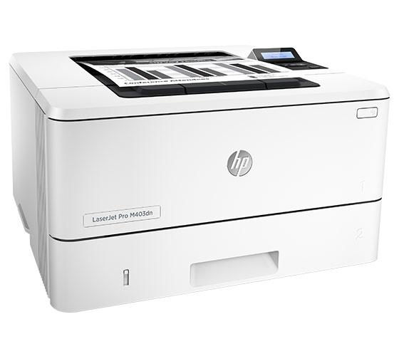 HP LaserJet Pro M403dn Multi-Function Color Laser Jet Printer (White)