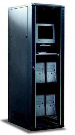 APW Computer Rack Black [SR-8842-1]