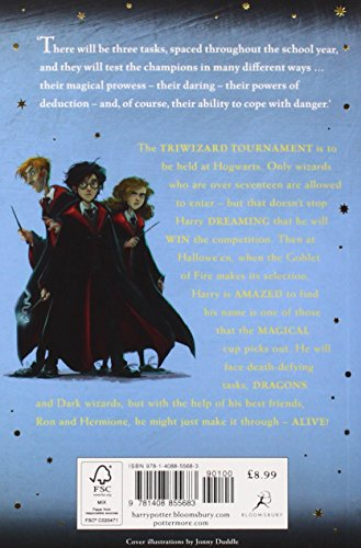 Harry Potter And The Goblet Of Fire (Harry Potter 4)(J K Rowling)