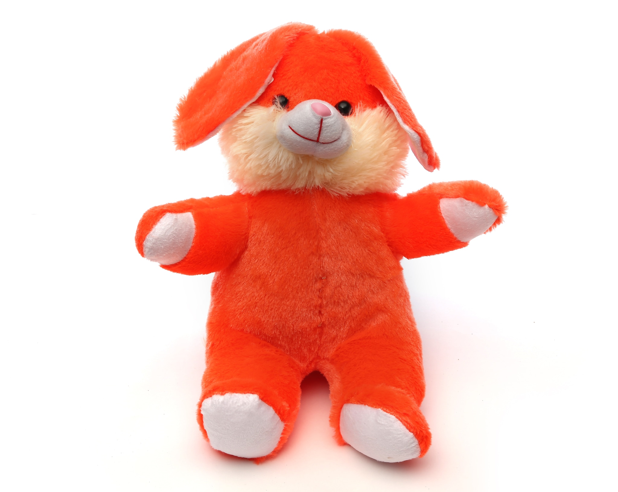AT-1167-ORANGE LAZY BUNNY