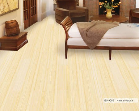 Euro Bamboo EU-9002 Natural Vertical Wooden Flooring
