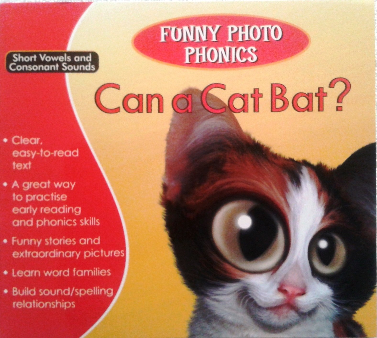 Funny Photo Phonics Short Vowels And Consonant Sounds Vol. 1 To 5