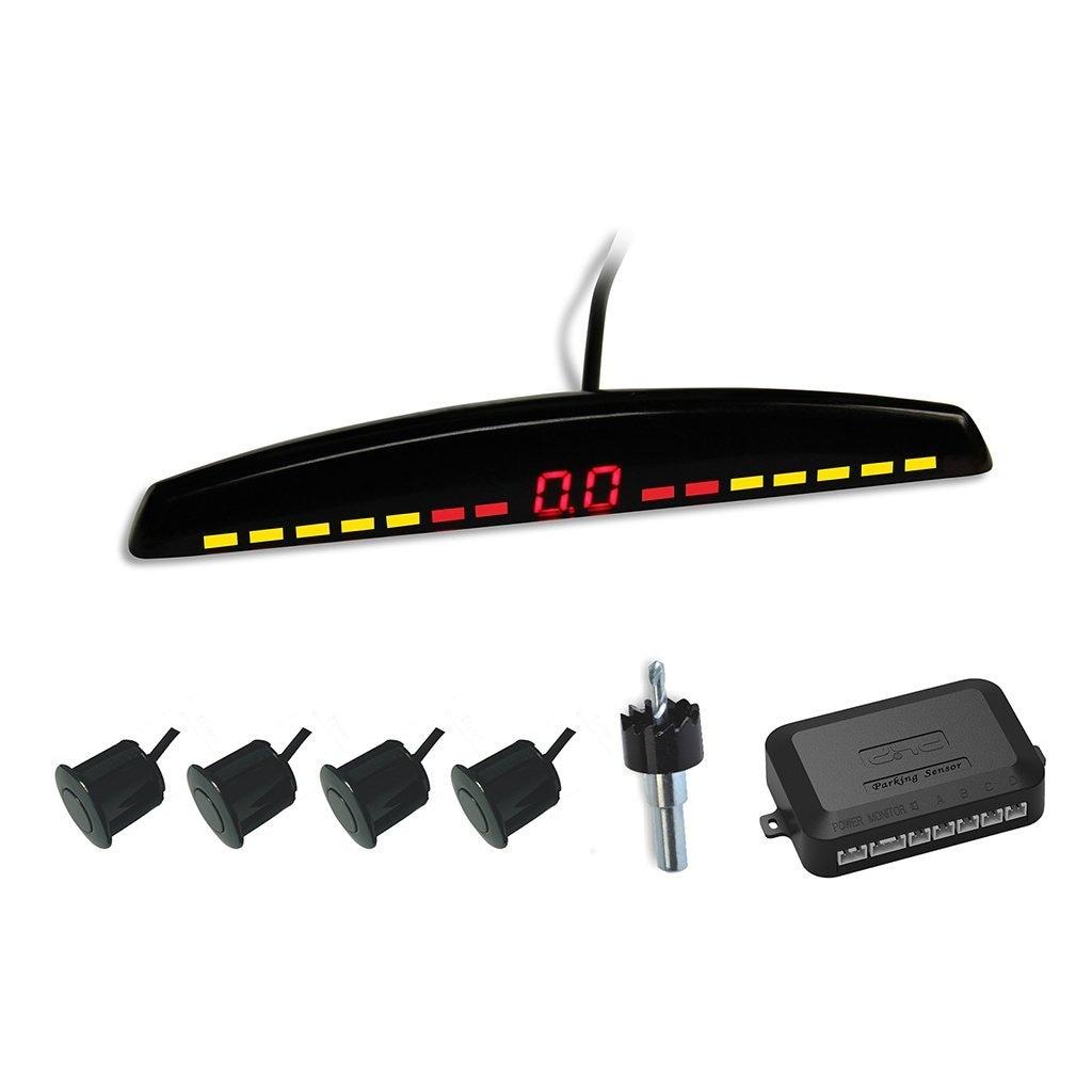 DHC Car Reverse Parking Sensor For All Cars (Black/white/Silver)