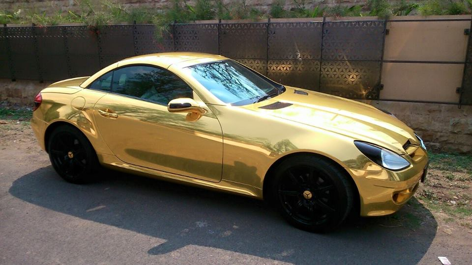 Mercedies Wrapping (Gold)