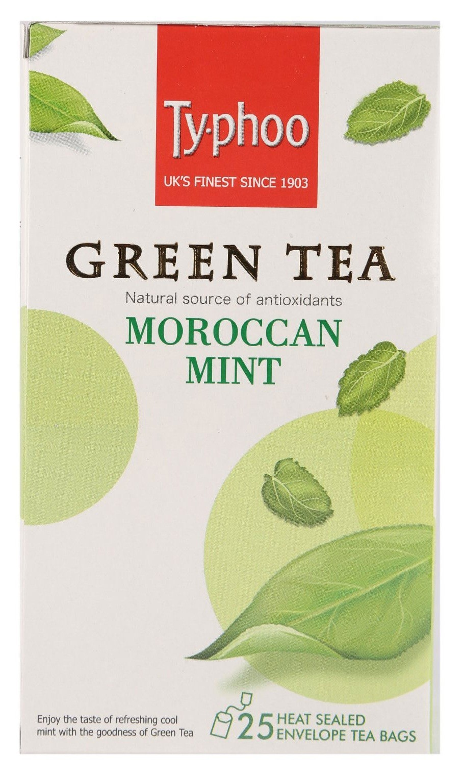 Typhoo Moroccan Mint Green Tea 25 Pc