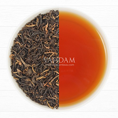 Vahdam Exotic Assam Tea Leaves With Imperial Golden Tips Pure Assam Tea 100 Gm