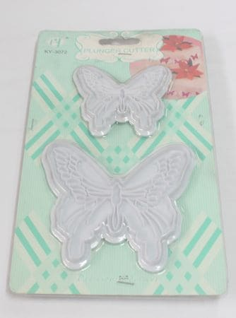 Butterfly Impression Cutter KY-3072