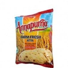 Annapurna Atta (500 gm) - Flour & Broken Grains (Rava) - Sri Dhandapani  Stores