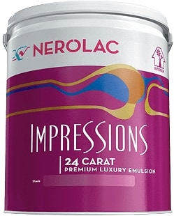 Nerolac Beauty Silver Paint - Neutral (1 Litre)
