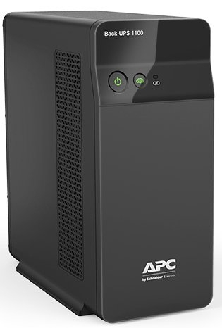 APC Back UPS Black [BX1100C-IN]