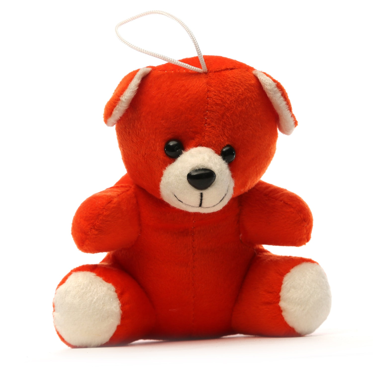 AT-1133-ASST COLOUR CARHANGING TEDDY 15CM