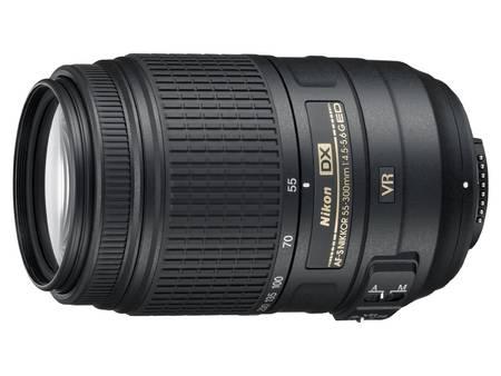 Nikon Camera Lens [AF-S DX Nikkor 55-300mm F/4.5-5.6G ED VR]