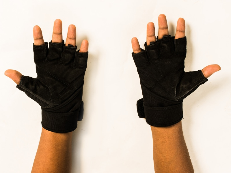 Weight Lifting Gym Gloves (L)