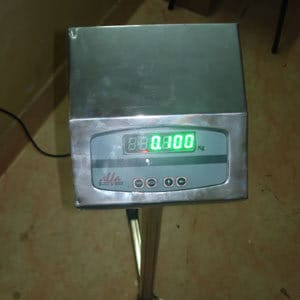 Alfa Weighing Indicator Attached To Any Size Weighing Machine