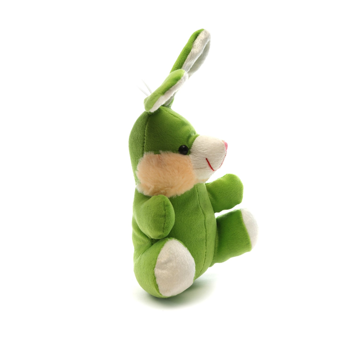 AT-1134-ASST COLOUR CARHANGING BUNNY 15CM
