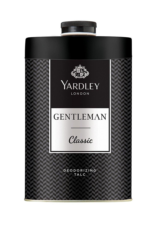 Yardley London Classic Gentleman Deodorizing Talc 250 Gm