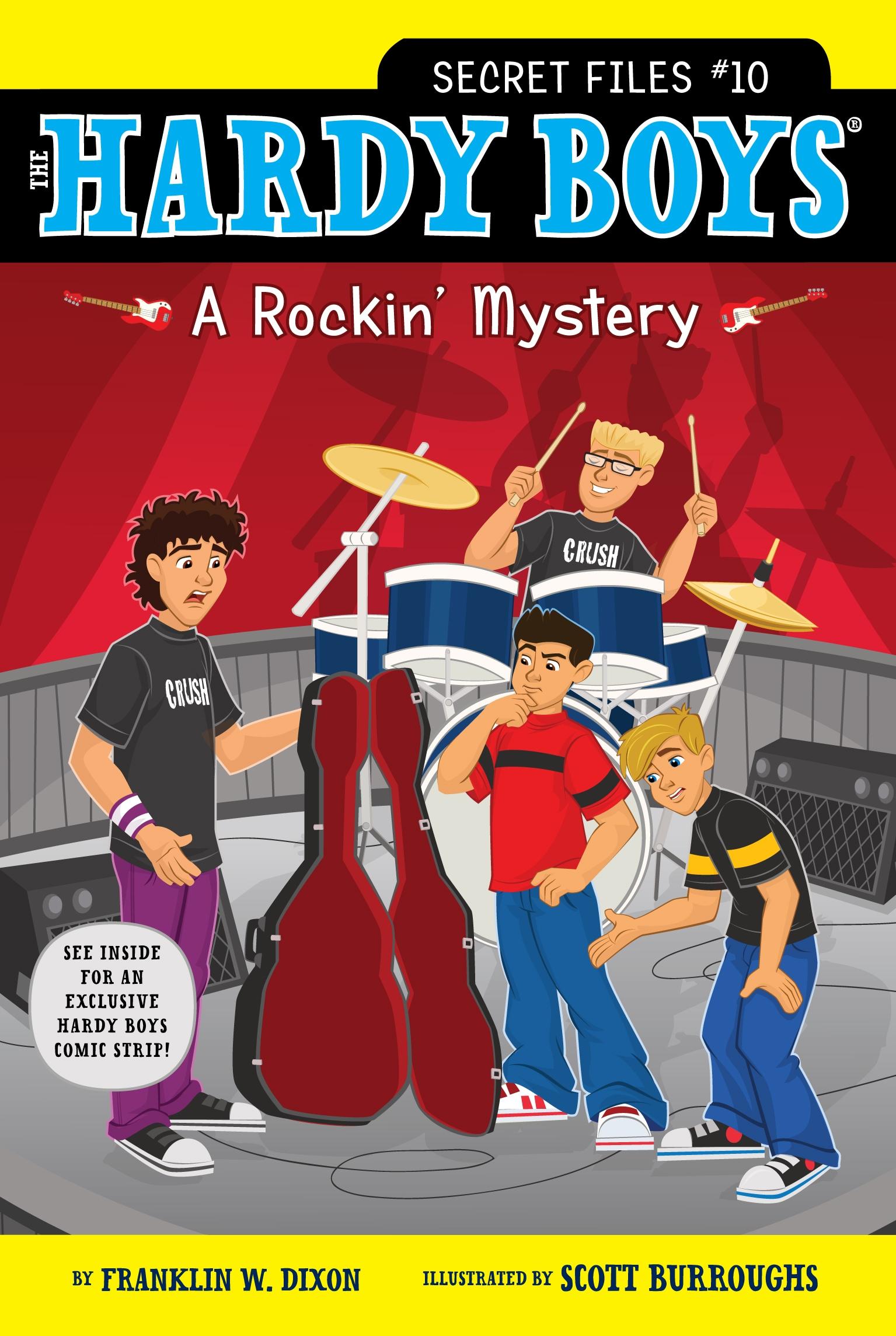 A Rockin' Mystery (Hardy Boys: The Secret Files)
