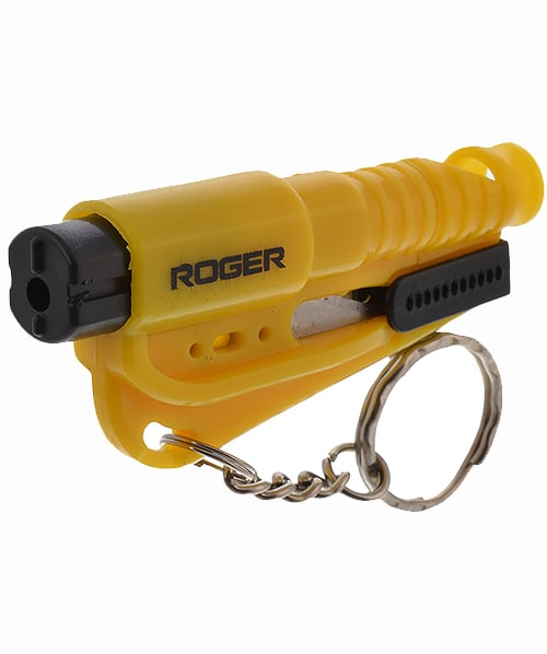 ACCITOOL (3in 1 Accident Rescue Tool, For Breaking Glass,Cutting Seat Belt And Blowing Whistle, To Attract Attention, Compact And Handy)