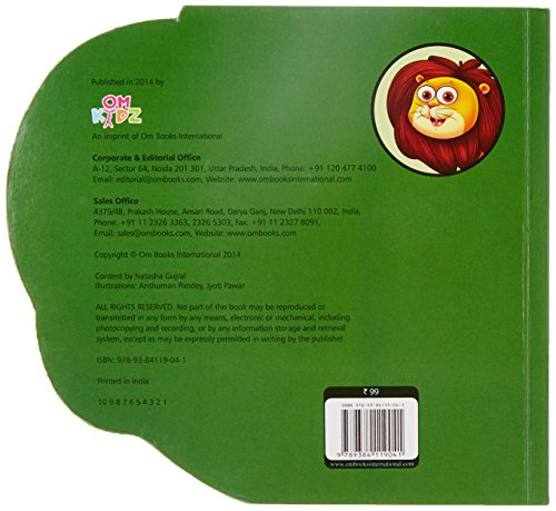 Mini Bus: Early Learning Cut Out Board Book- Lion