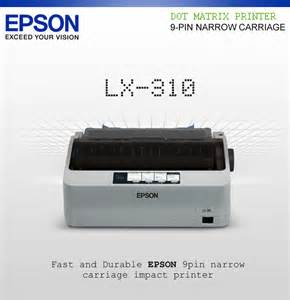 EPSON DOT MATRIX PRINTER LX 310