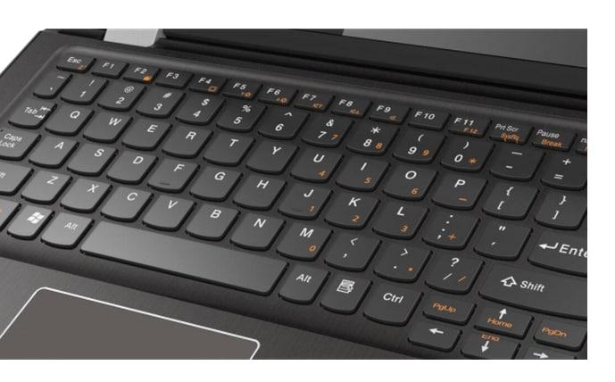Lenovo Yoga 300 6th Generation Laptop White [80M1003WIN]