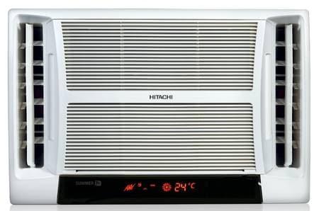 Hitachi summer tm rat518hud window ac 1 5 ton 5 star for 1 5 ton window ac watts