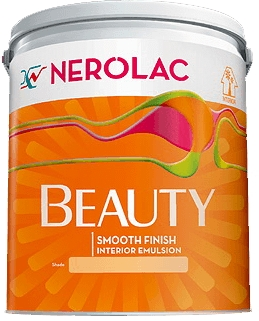 Nerolac Beauty Silver Paint - Red (1 Litre)