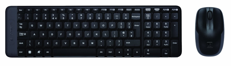 Logitech Wireless Combo Computer Keyboard [MK220]