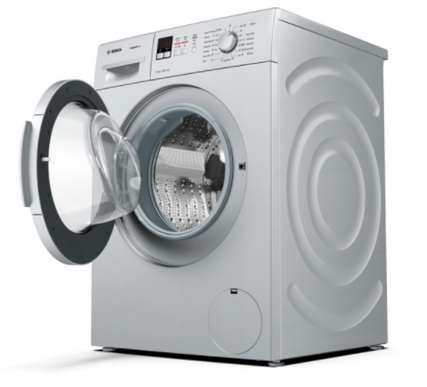 Bosch Front Loading Washing Machine,7.0kg (Silver,WAK24169IN)