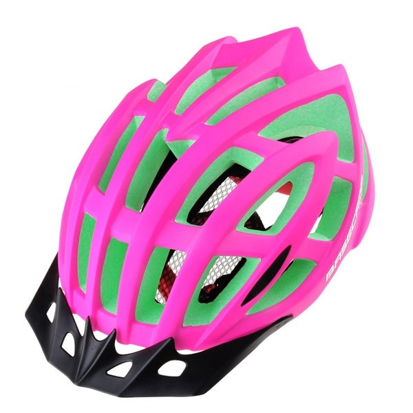 Lightweight Microshell Bicycle Helmet (Pink)
