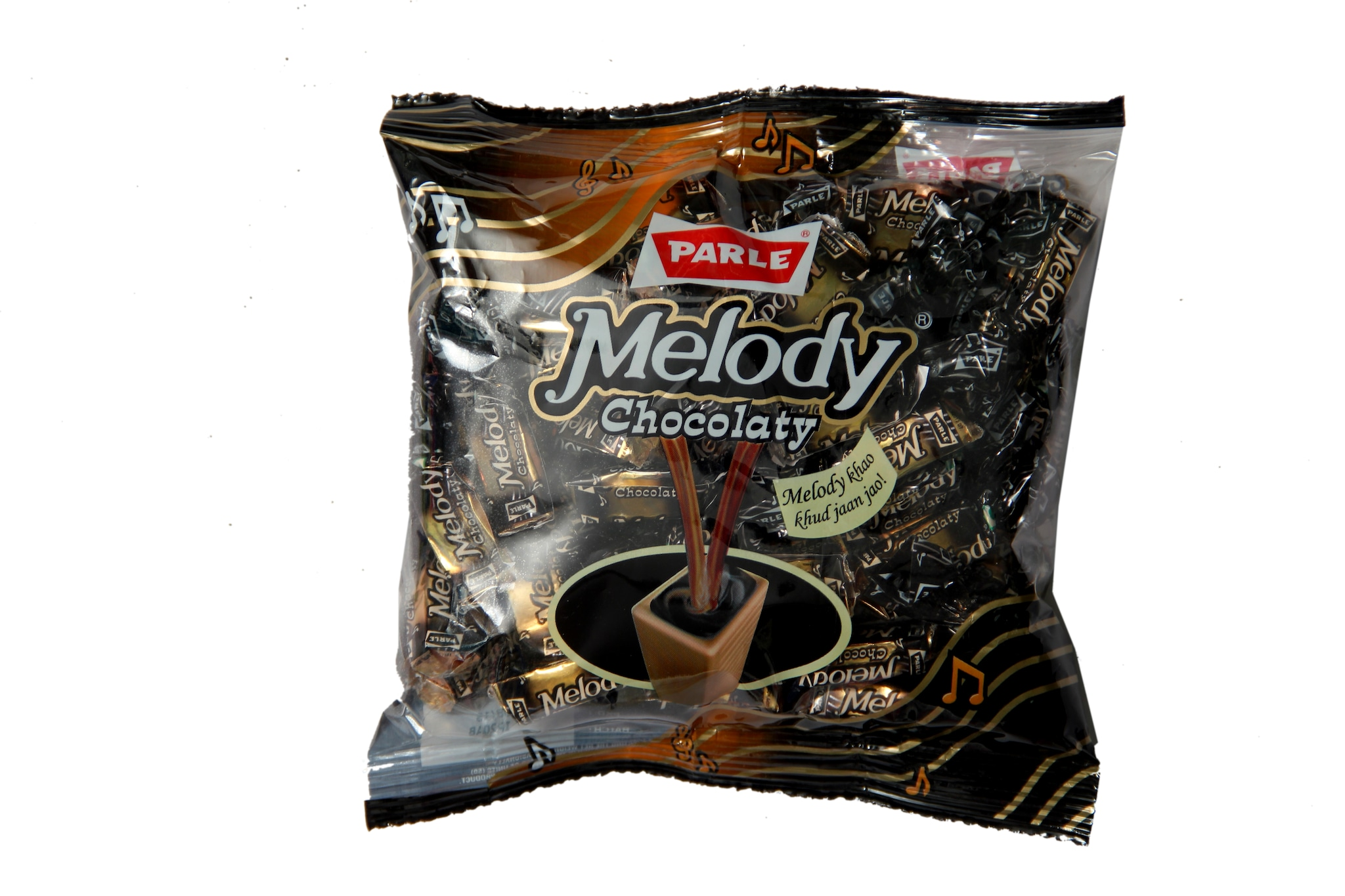 Parle Melody Chocolaty Toffee (Pouch) 195.5 Gm