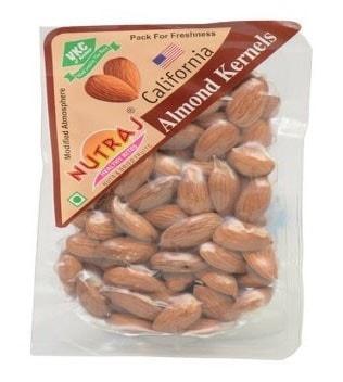 Nutraj California Almonds - 250 Gm