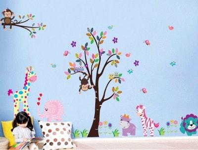 Uberlyfe Art & Paintings Wallpaper (156 Cm X 280 Cm)