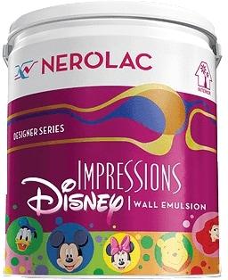 Nerolac Impressions Disney Paint - Beige (1 Litre)