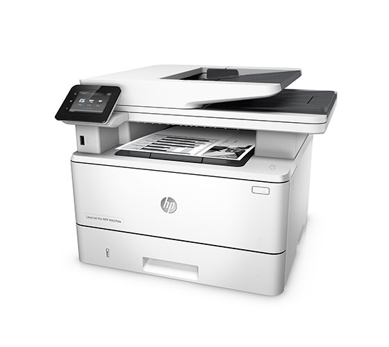 HP LaserJet Pro MFP M427fdw Multi-Function Color Laser Jet Printer (White)