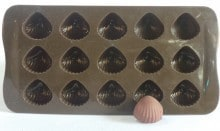 Shell Choco Mould Silicon