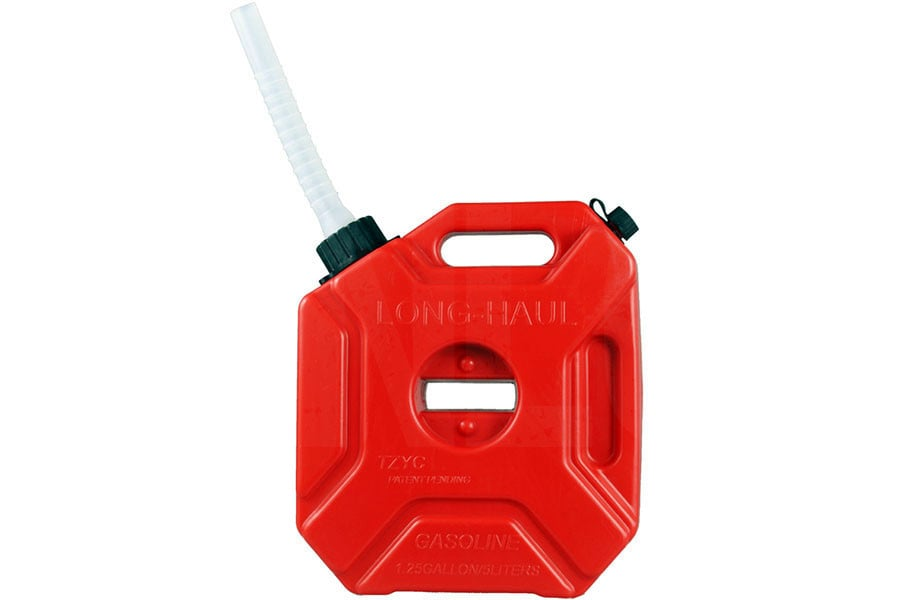 Motorcycle Jerry Can Portable Fuel Gas Tank
