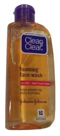 Clean & Clear Foaming Facial Face Wash - 100 Ml