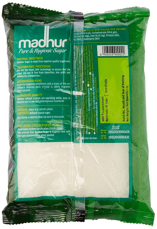 Madhur Pure And Hygienic Sugar 1 Kg