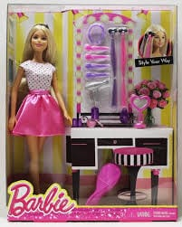 BARBIE DOLL WITH ACCESSORIES DJP92