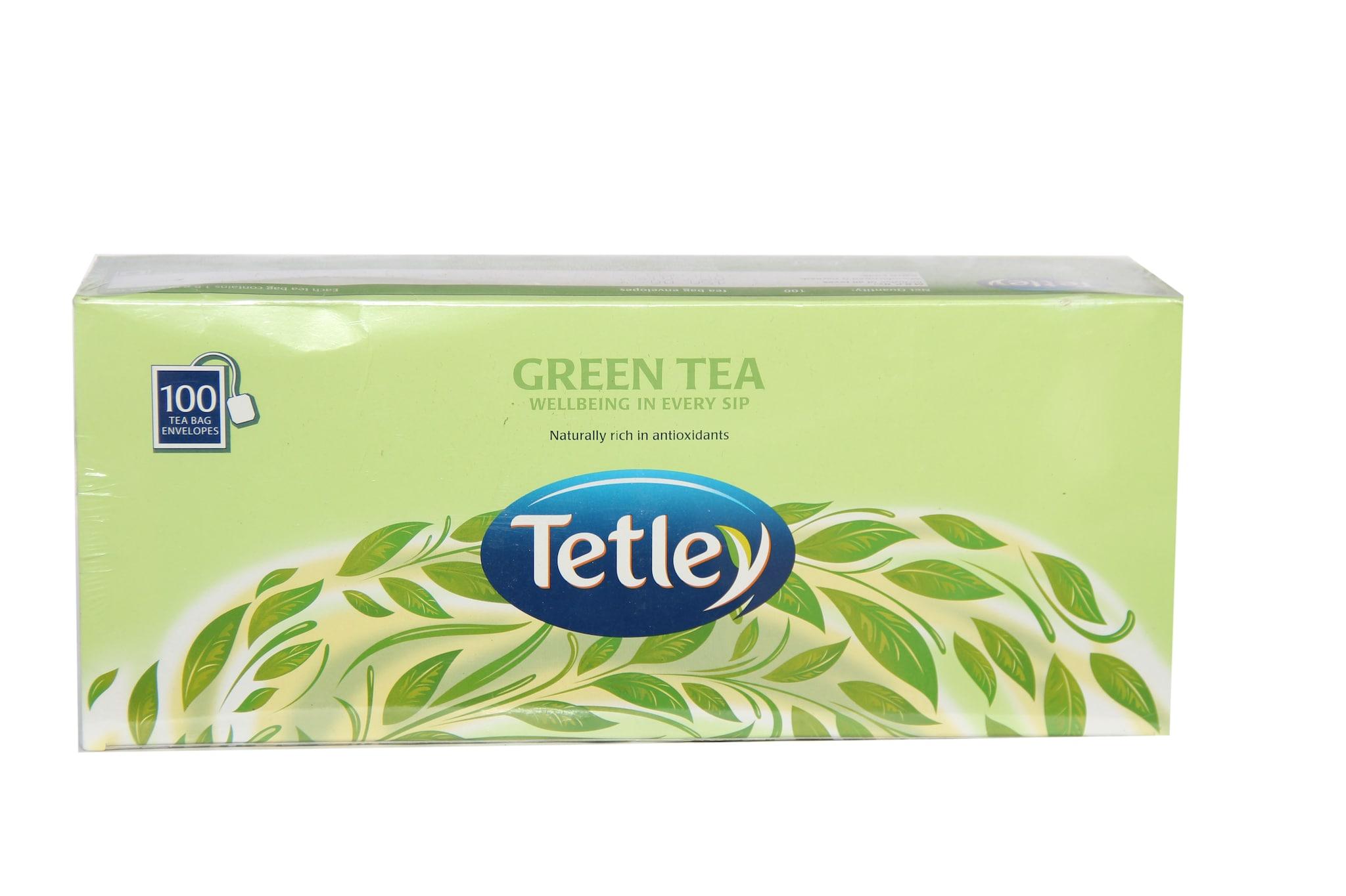 Tetley Green Tea 100 Tbag