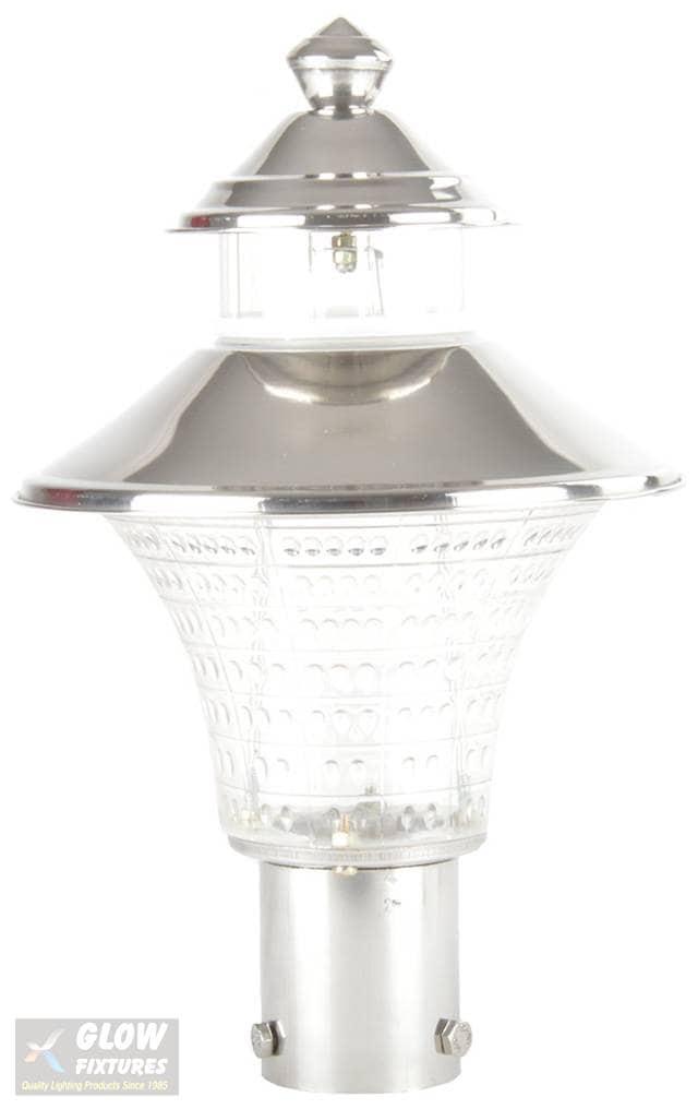 Glow Fixtures Garden Gate Light Fixture Dolphin -- Product Code: GL1118ABD-REG
