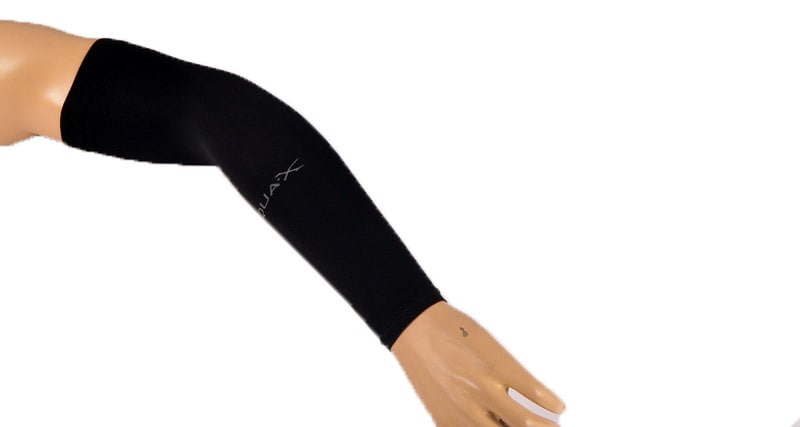 ARM SLEEVE -  AQUA (Black)