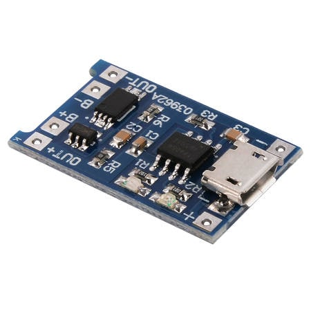 Lithium Charging Module, With LOW VOLTAGE CUTOFF - Battery Chargers /  Modules - AlphaTroniks