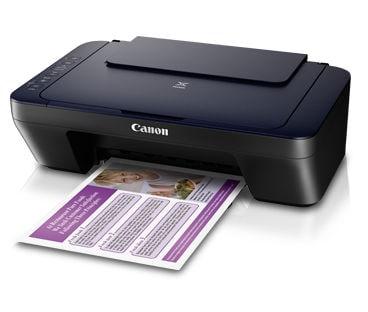 Canon PIXMA E460 Ink Efficient Multi Function Printer Black