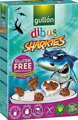 Gullon Gluten Free Sharkies - Cocoa Flavor
