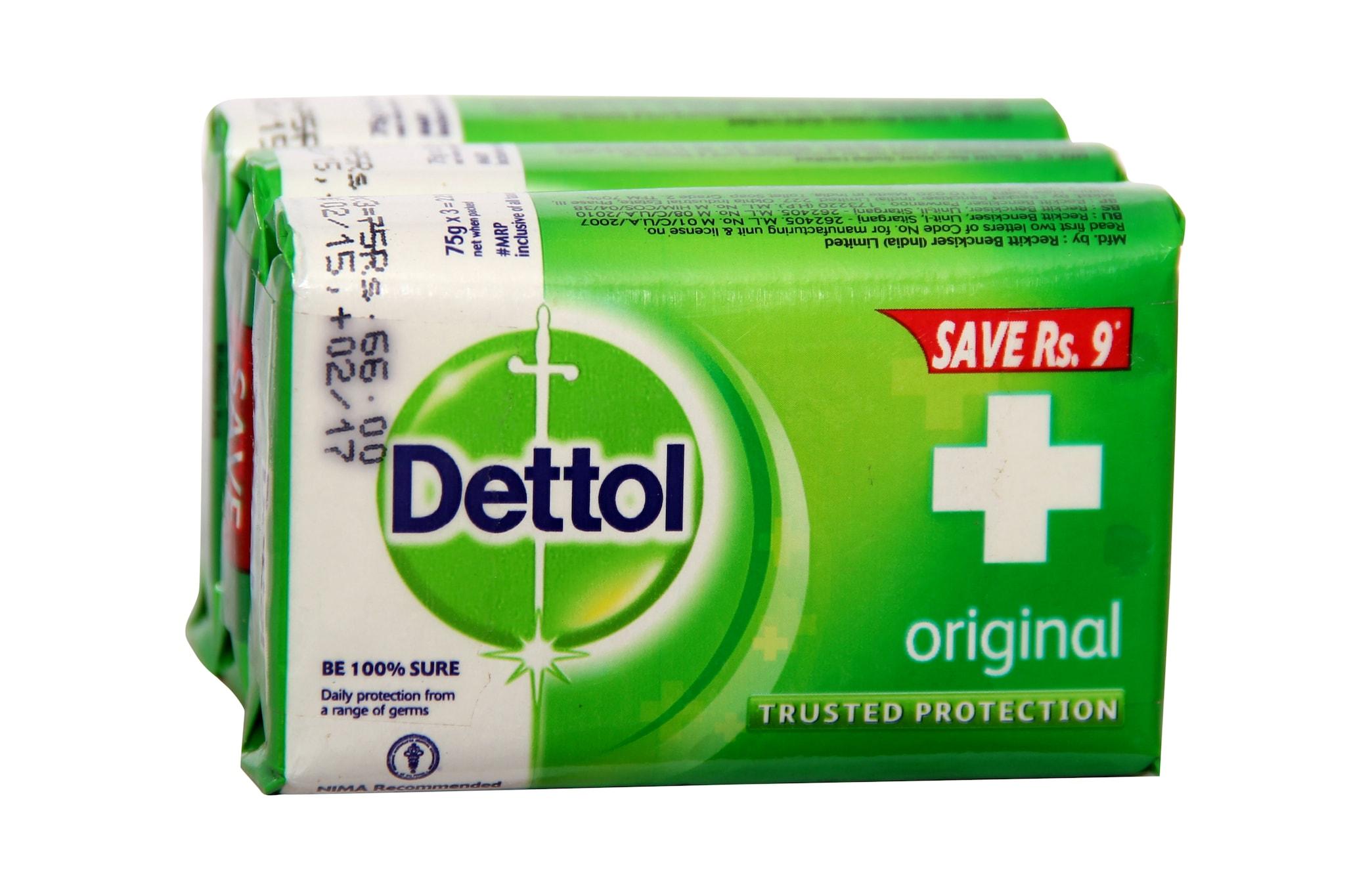 Dettol Original Soap (Pack Of 3)
