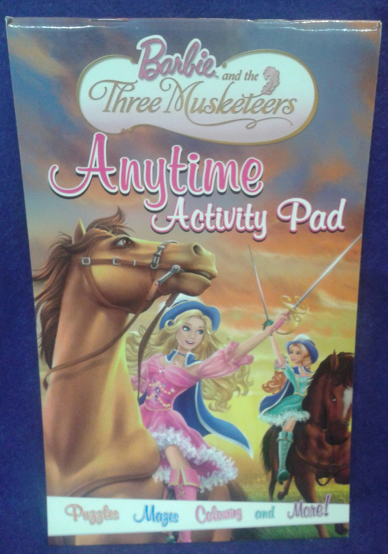 BARBIE AND The Three Musketeers  ANYTIME ACTIVITY PAD
