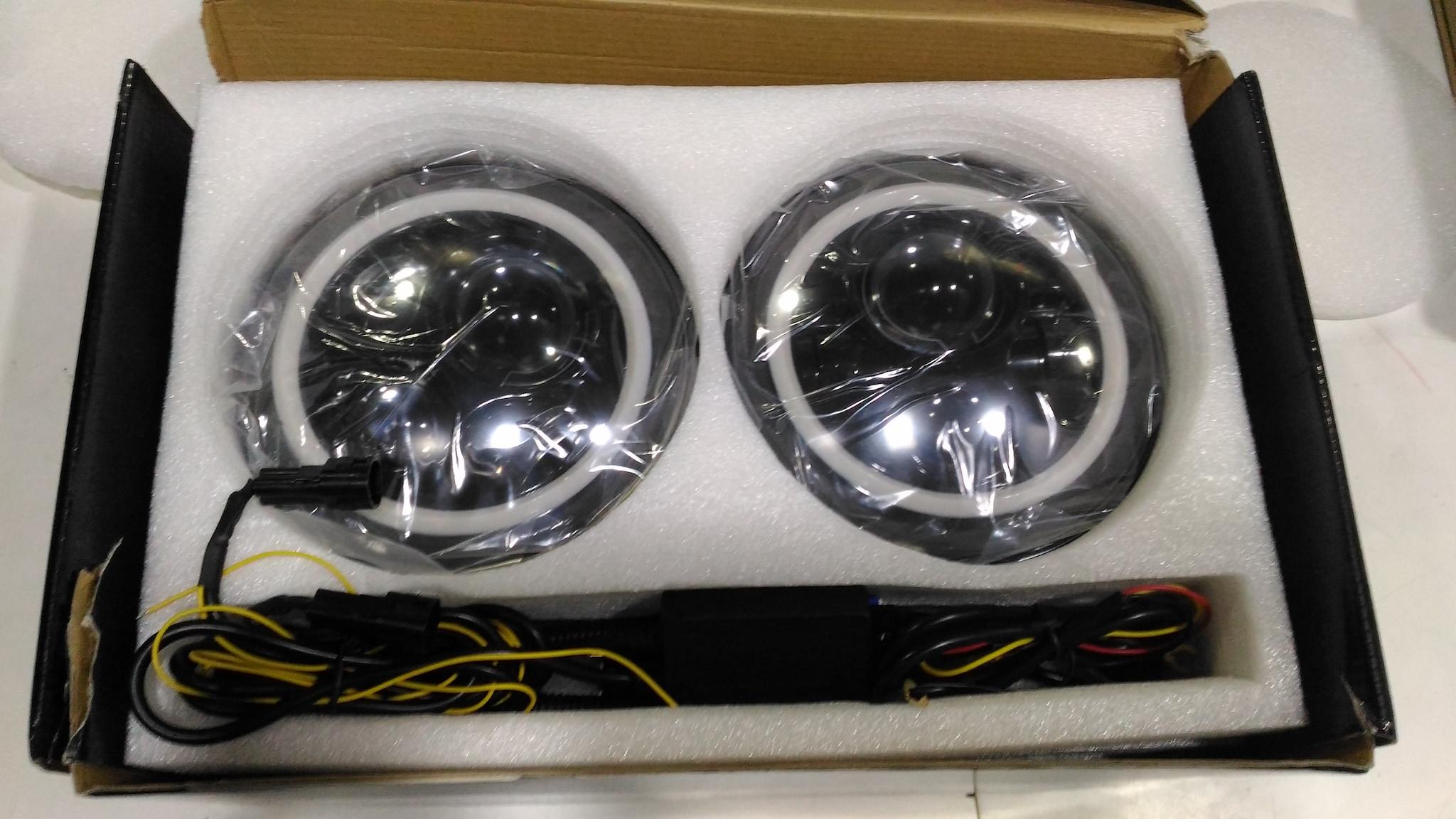 7 Inch 60 WATT Thar LED Headlight White